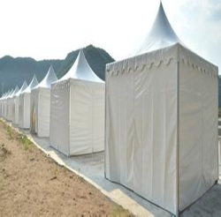 尖顶篷房展示