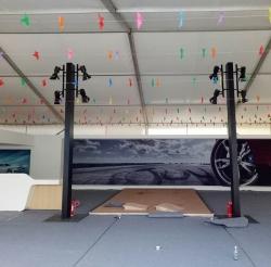车展篷房安装