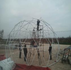 玻璃篷房搭建