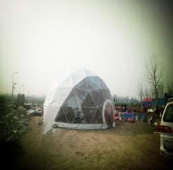 球形篷房搭建