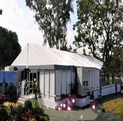 莱州庆典篷房搭建